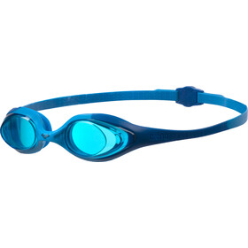 arena Spider Goggles Kinderen, blue-lightblue-blue